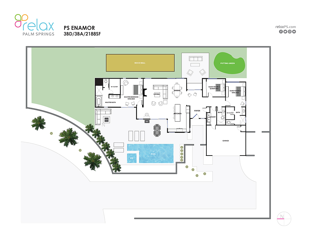 Floor Plan for NEW, MODERN ELEGANCE AND MODERN COMFORT COMBINED