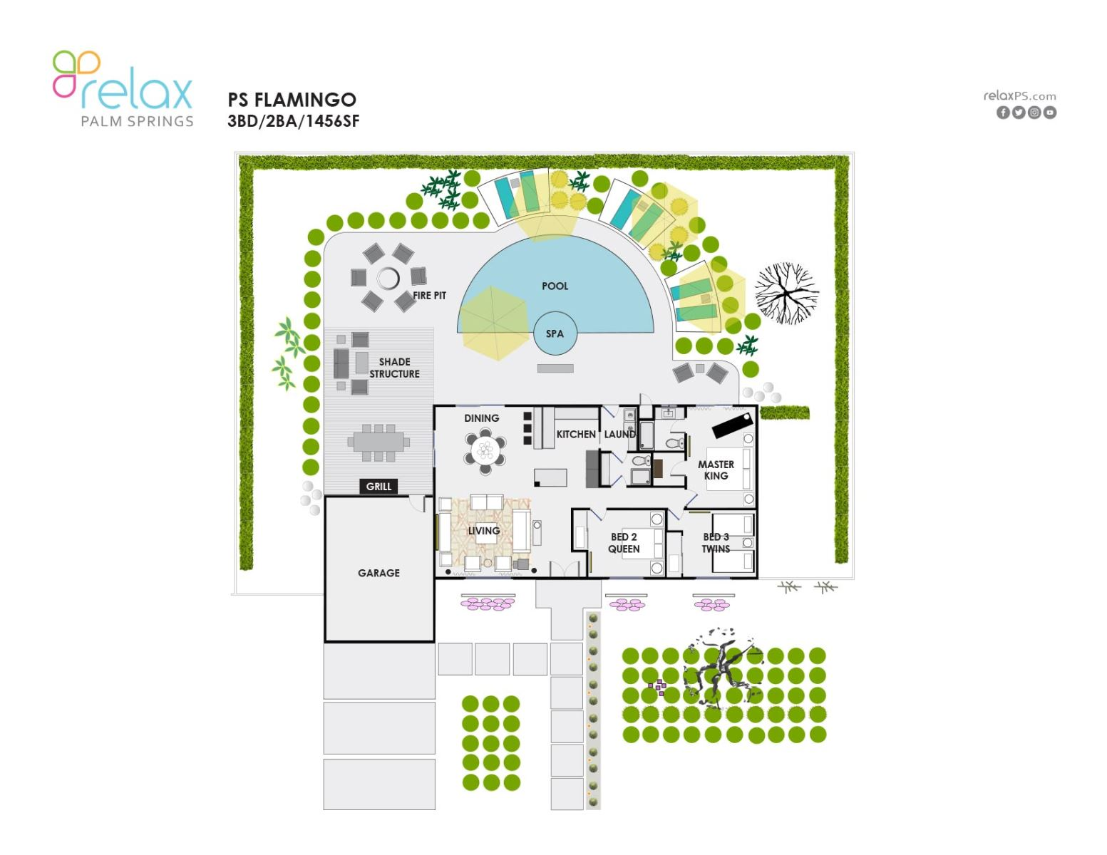 Floor Plan for Modern and Comfortable Luxury Meets Charm and Whimsy!